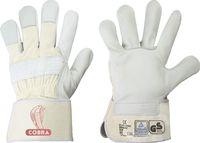 F-STRONGHAND, Rind-Leder-Arbeits-Handschuhe, COBRA