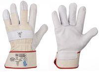 F-STRONGHAND, Rindvoll-Leder-Arbeits-Handschuhe, STIERKOPF