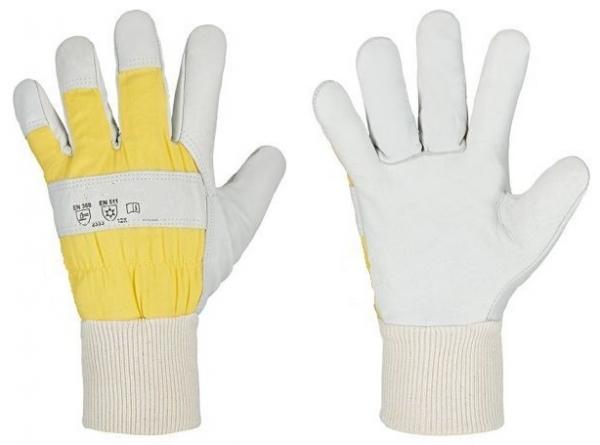 F-RINDVOLLLEDER-Handschuh, *KARIBU*, VE: 60 Paar