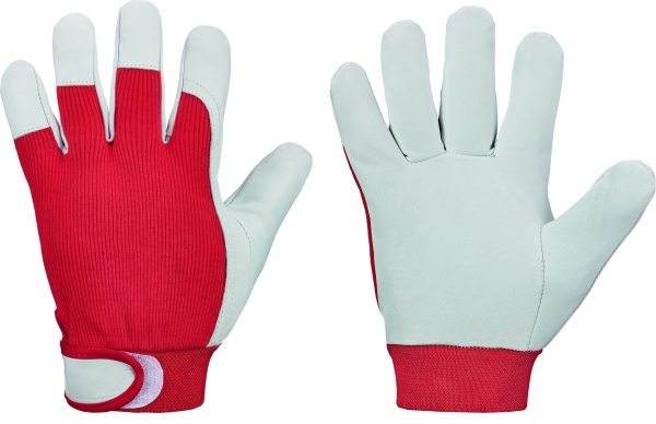 F-GOODJOB-Arbeits-Handschuhe,*RED NAPPA*, VE: 120 Paar