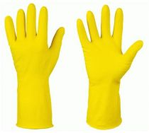 F-STRONGHAND-Latex-Haushalts-Arbeits-Handschuhe, KASAN, gelb