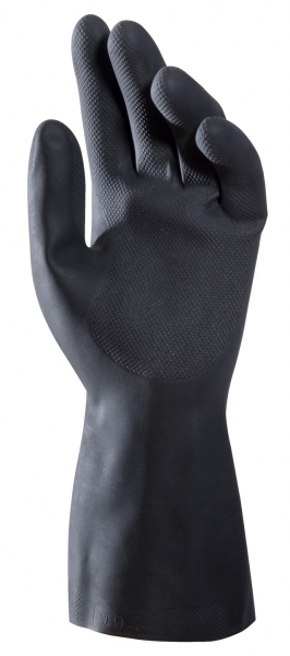 F-MAPA, Naturlatex, Arbeitshandschuhe,  *ALTO 260*, VE: 50 Paar, schwarz