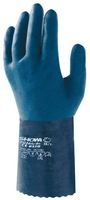 F-STRONGHAND, Nitril-Arbeits-Handschuhe, SHOWA 720, blau