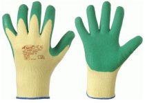 F-STRONGHAND, Strick-Arbeits-Handschuhe, SPECIALGRIP, grün