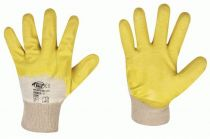F-STRONGHAND, Latex-Arbeits-Handschuhe, LSO, gelb