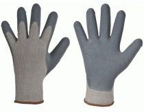 F-STRONGHAND, Strick-Arbeits-Handschuhe, FOAM GRIP, grau