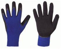 F-STRONGHAND, Strick-Arbeits-Handschuhe, LAFOGRIP, blau/schwarz