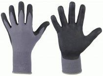 F-STRONGHAND, Nitril-Arbeits-Handschuhe, BATAN, grau/schwarz
