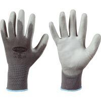 F-STRONGHAND, Strick-Arbeits-Handschuhe, SHENZHEN, grau