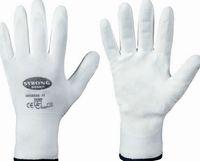 F-STRONGHAND Nylon-Arbeits-Handschuhe, TAIBAI, weiss