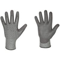 F-GOODjob, Schnittschutz-Arbeits-Handschuhe, GREY CUTGRIP, grau
