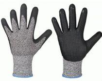 F-Schnittschutz-Arbeits-Handschuhe, REDDING, schwarz