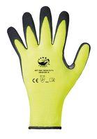 F-LEVEL 5, Schnittschutz, Nitril, -Arbeits-Handschuhe, *NEON CUT 5*, VE: 60 Paar, schwarz