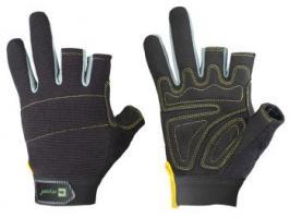F-ELYSEE, Mechanicals, Arbeits-Handschuhe, *JOINER*, VE: 72 Paar, schwarz/grau