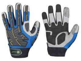 F-ELYSEE, Mechanicals, Arbeits-Handschuhe, *TIMBERMAN*, VE: 72 Paar, blau/schwarz/grau
