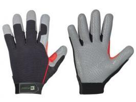 F-ELYSEE, Mechanicals, Arbeits-Handschuhe, *GRINDER*, VE: 72 Paar, schwarz/grau