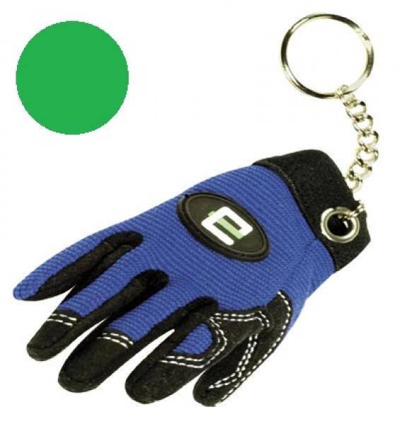 F-Feldtmann-Schlüsselanhänger, VE: 100 Stück, grün