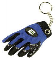 F-Feldtmann-Schlüsselanhänger, VE: 100 Stück, blau