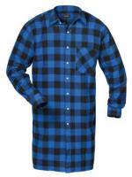 F-CRAFTLAND-Flanell-Arbeits-Berufs-Hemd, *MICHIGAN*, 105 cm, blau/schwarz kariert