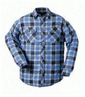 F-CRAFTLAND, Kälte-Schutz-Winter-Thermo-Winter-Arbeits-Berufs-Hemd, ONTARIO, blau-kariert