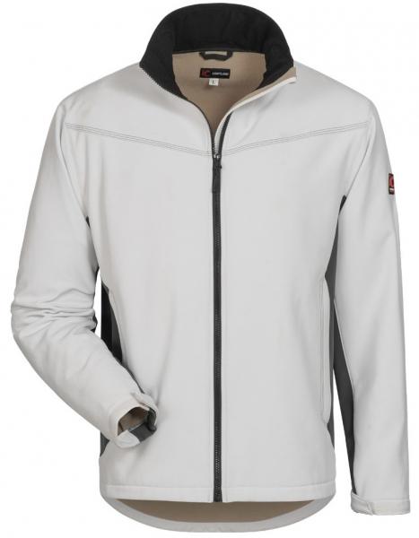 F-ELYSEE Damen-Softshelljacke, LAURA, weiß/grau
