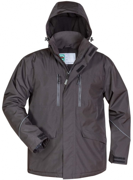 F-ELYSEE-Winterparka, *BURNLEY*, schwarz