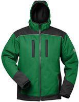 F-ELYSEE-Winter-Softshell-Arbeits-Berufs-Jacke, *ARGOS*,  grün/schwarz