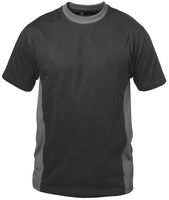 FELDTMANN T-Shirt, MADRID, schwarz/grau