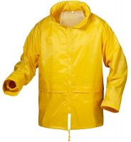 F-CRAFTLAND-Regen-Nässe-Wetter-Schutz-Jacke, HERNING, gelb