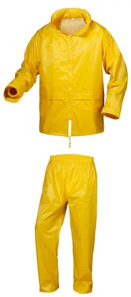 F-CRAFTLAND Regen-Nässe-Wetter-Schutz-Set, Anzug, SONDERBORG, gelb