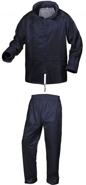 F-CRAFTLAND Regen-Nässe-Wetter-Schutz-Set, Anzug, HORSENS, marine