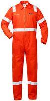 F-CRAFTLAND-Rallye-Kombination, Arbeits-Berufs-Overall, mit Reflexstreifen, *SUZUKA*, orange
