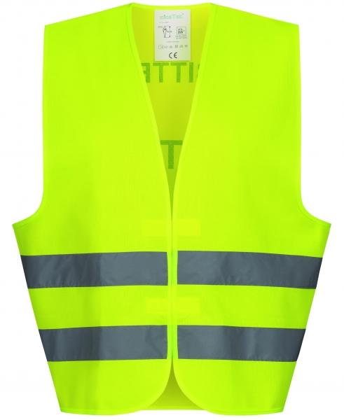 F-Warnschutzweste, *FRIEDER*, gelb mit Druck