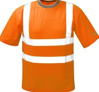 F-SAFESTYLE Warn-Schutz T-Shirt, BRIAN, fluoreszierend, orange