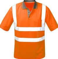 F-Safestyle Warn-Schutz Polo-Shirt, CARLOS, fluoreszierend, orange