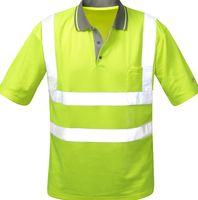 F-Safestyle Warn-Schutz Polo-Shirt, DIEGO, fluoreszierend, gelb