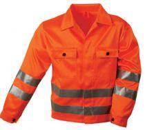 F-SAFESTYLE, Warn-Schutz-Arbeits-Berufs-Jacke, ALOIS, fluoreszierend orange
