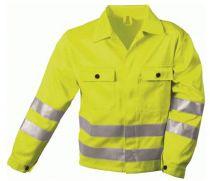 F-SAFESTYLE, Warn-Schutz-Arbeits-Berufs-Jacke, HERMANN, fluoreszierend gelb