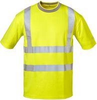 F-SAFESTYLE Warn-Schutz T-Shirt, PABLO, fluoreszierend, gelb