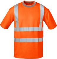 F-SAFESTYLE Warn-Schutz T-Shirt, PEPE, fluoreszierend, orange