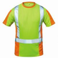 F-ELYSEE-Warn-Schutz-T-Shirt, UTRECHT, gelb/orange