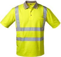 F-Safestyle Warn-Schutz Polo-Shirt, TITUS, fluoreszierend gelb