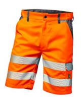 F-ELYSEE-Warn-Schutz-Shorts, *LYON*, orange/grau