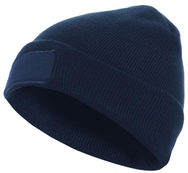 F-ELYSEE-Thinsulate-Mütze, bedruckbar, *MARLON*, marine
