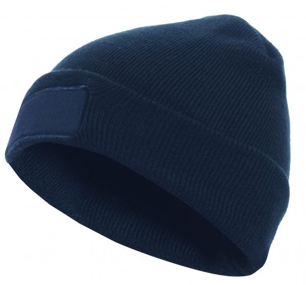F-ELYSEE-Thinsulate-Mütze, bedruckbar, *BJARNE*, schwarz