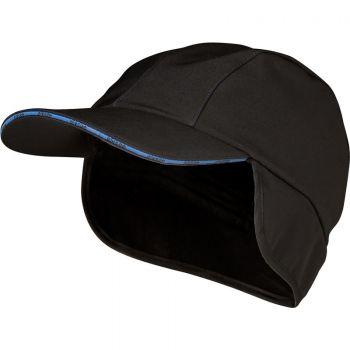 FELDTMANN Winter Softshell Cap, WOLFGANG, schwarz/marine