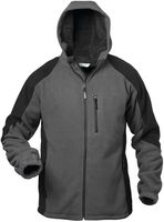 FELDTMANN, Winter-Fleece-Arbeits-Berufs-Jacke, TAMPERE, grau/schwarz