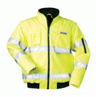 F-SAFESTYLE, Warn-Schutz-Piloten-Arbeits-Berufs-Jacke, ROLAND, fluoreszierend gel