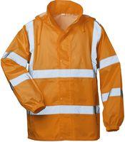 FELDTMANN, Warn-Schutz-Regen-Arbeits-Berufs-Jacke, HAUKE, fluoreszierend orange