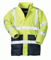 F-SAFESTYLE, 2 in 1-Warn-Schutz-Arbeits-Berufs-Parka, SEBASTIAN, fluoreszierend